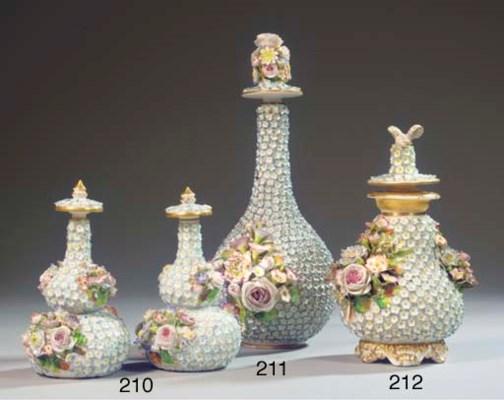 A Jacob Petit porcelain flower