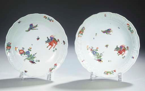 Two Meissen porcelain Kakiemon