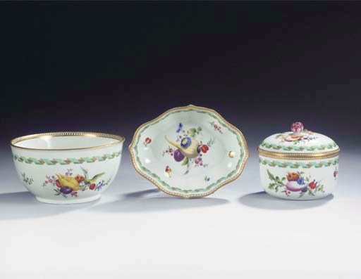 (4)  A set of a Meissen Marcol
