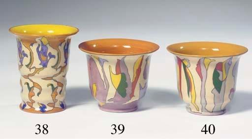 Opgaand, a glazed pottery bowl