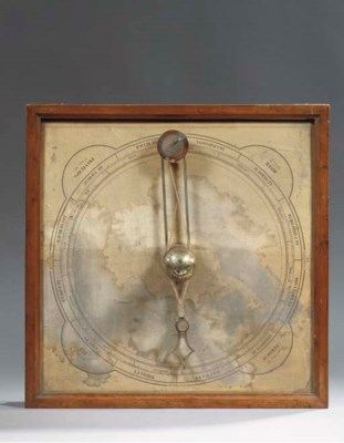 A FRENCH TABLE ORRERY