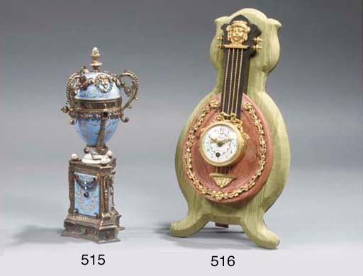 A silver-gilt and enamelled ti