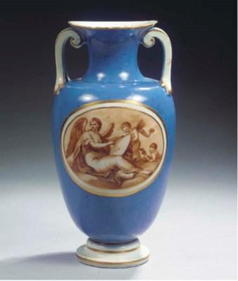 A Vienna porcelain allegorical