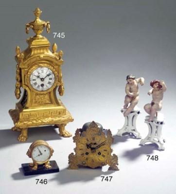 A Louis XVI ormolu timepiece