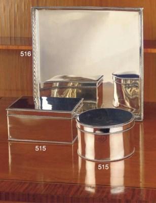 (2) A Dutch silver salver