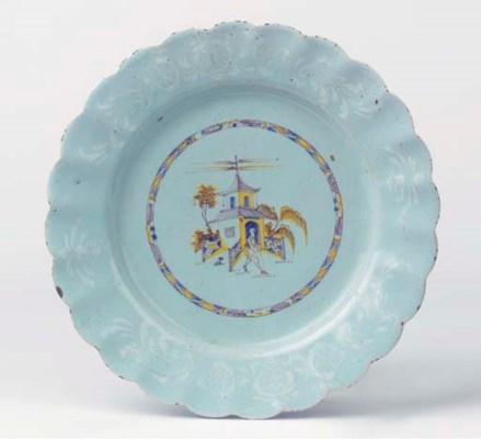 A Bristol Delftware bianco-sop