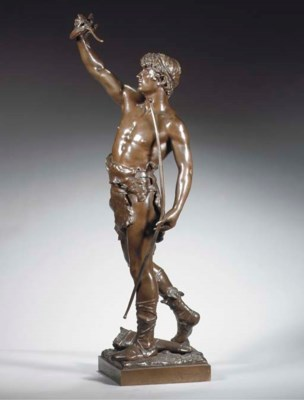 Cast from the model by Eugène