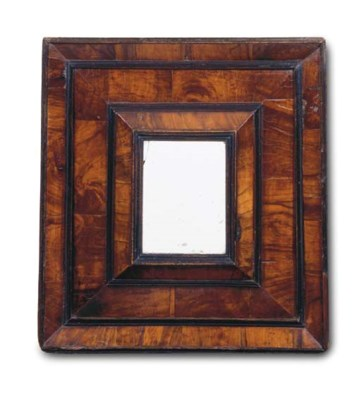 A FRENCH OLIVE-WOOD AND EBONIS
