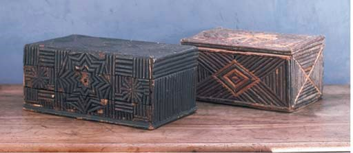 A FRENCH CHIPPED CARVED WOOD C