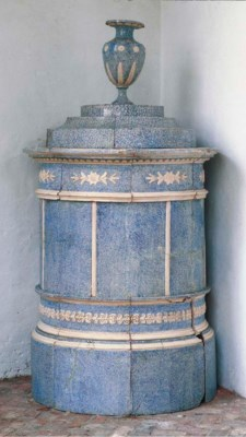 A LARGE NEO-CLASSICAL CYLINDRI