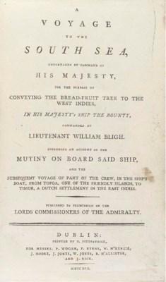BLIGH, William (1754-1817). A