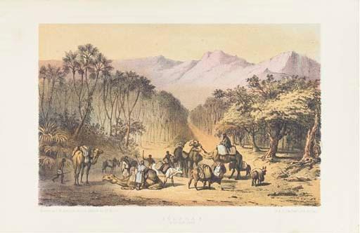 BARTH, Heinrich (1821-1865). T