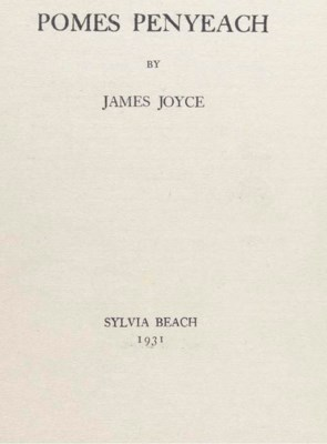 JOYCE, James. Pomes Penyeach.
