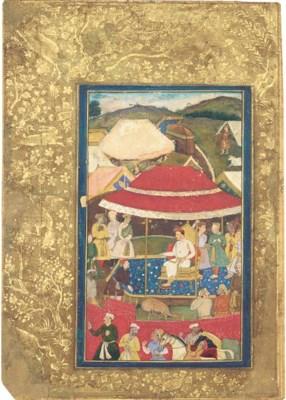 THE EMPEROR JAHANGIR AT A HUNT