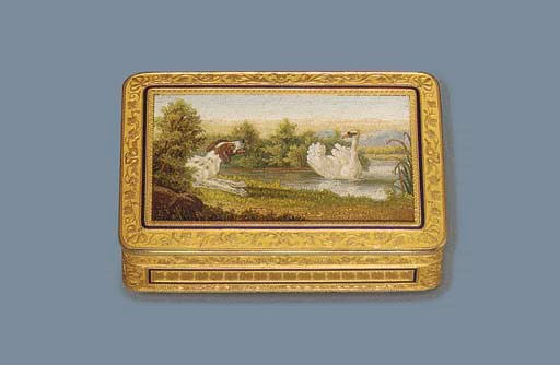 A FINE FRENCH PARCEL-ENAMELLED