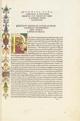 PLOTINUS (c.205-270). Opera. T