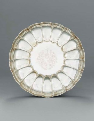A Charles II silver dish