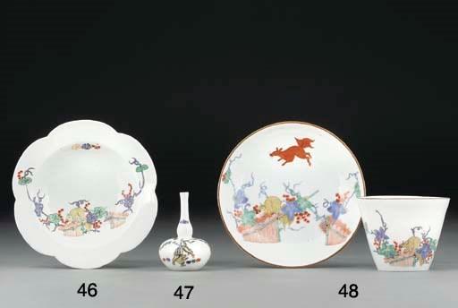 A Meissen Kakiemon miniature v