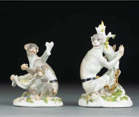 A pair of Meissen groups of mo