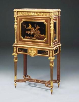 A fine Louis XVI style ormolu-