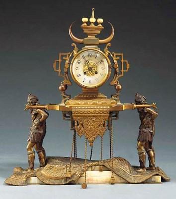 A French orientalist bronze an