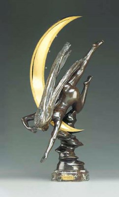 A French bronze and parcel-gil