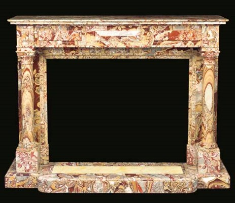 An alabaster fiorito marble fi