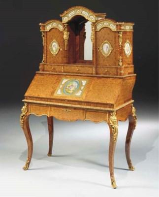 A Napoleon III ormolu-, Sevres