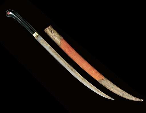 A SMALL OTTOMAN SWORD