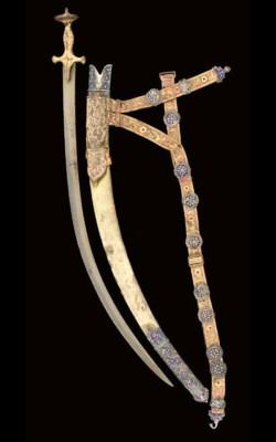 A TALPUR SWORD (TULWAR)
