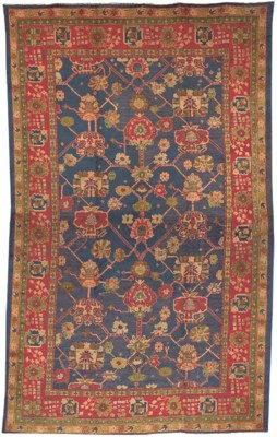 A DONEGAL OF CARPET OF USHAK D