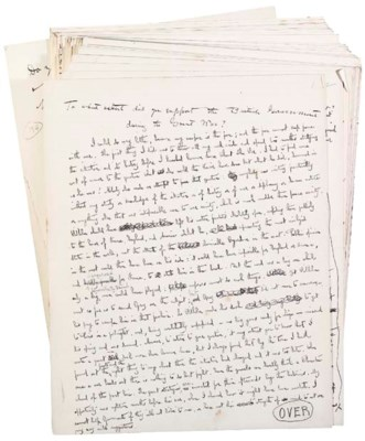 SHAW, George Bernard. Autograp