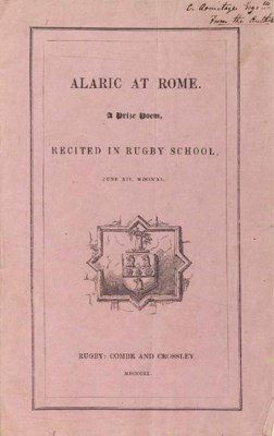 [ARNOLD, Matthew (1822-1888)].