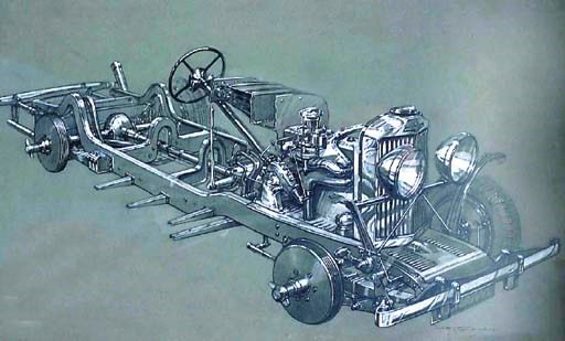 Talbot 105 Chassis - An origin