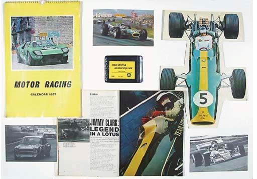Jim Clark - Lotus 36 Club ; Ji