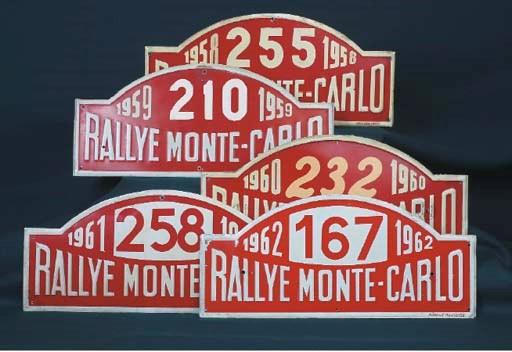 Monte Carlo Rallye - 1958-1962
