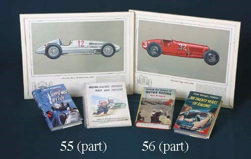 A collection of rallying poste