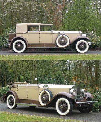 1928 ROLLS-ROYCE PHANTOM I NEW