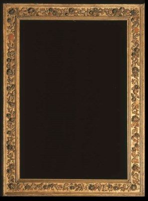 A VICTORIAN OIL-GILT PICTURE F
