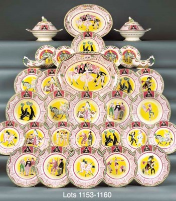 FIVE CIRCUS SIDE PLATES