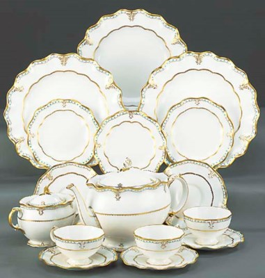 A ROYAL CROWN DERBY TEA-SERVIC