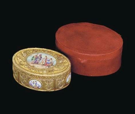 A George III vari-coloured gol