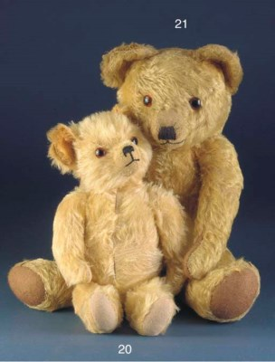A Dean's Musical teddy bear