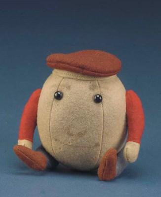 A rare small Steiff Humpty Dum