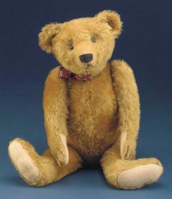 An early German teddy bear