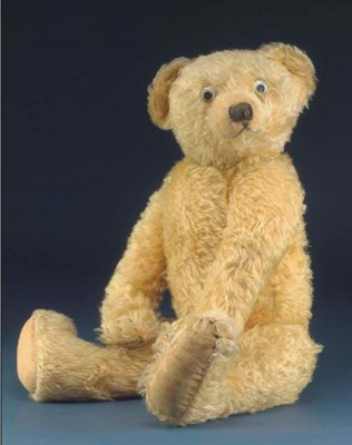 A large Alpha Farnell teddy be