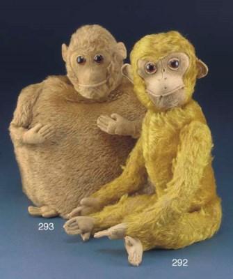 A Schuco yes/no monkey