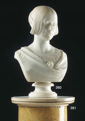 A scagliola Sienna marble colu