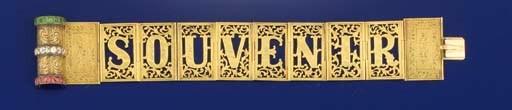 An attracive Victorian gold, d