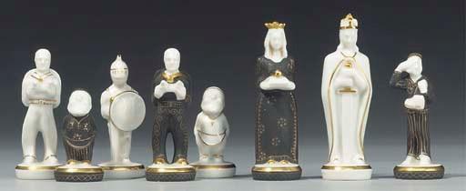 A Continental porcelain figura